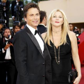 Rob Lowe, Sheryl Berkoff in 2011 Cannes International Film Festival - Day 6 - The Tree of Life - Premiere