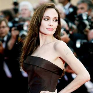 Angelina Jolie in 2011 Cannes International Film Festival - Day 6 - The Tree of Life - Premiere
