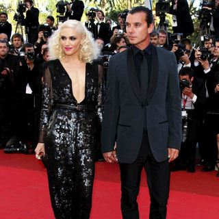 Gwen Stefani, Gavin Rossdale in 2011 Cannes International Film Festival - Day 6 - The Tree of Life - Premiere