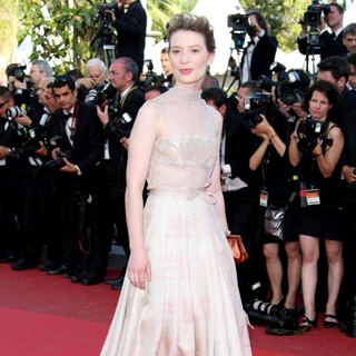 Mia Wasikowska in 2011 Cannes International Film Festival - Day 6 - The Tree of Life - Premiere