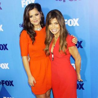 Cheryl Cole, Paula Abdul in 2011 FOX Upfront Presentation - Arrivals