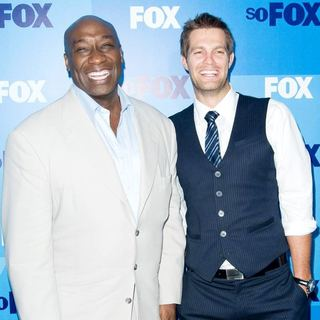 Michael Clarke Duncan, Geoff Stults in 2011 FOX Upfront Presentation - Arrivals