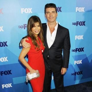 Paula Abdul, Simon Cowell in 2011 FOX Upfront Presentation - Arrivals