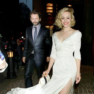 Rachel McAdams, Michael Sheen in The Screening of Midnight in Paris at The Tribeca Grand Hotel