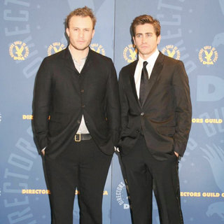 Heath Ledger, Jake Gyllenhaal in 58th Annual Directors Guild of America Awards - Pressroom