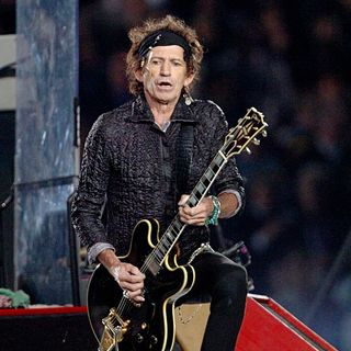 Keith Richards in The Rolling Stones Perform Half-Time Show