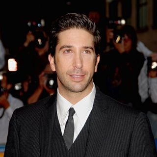 David Schwimmer in Premiere of 'Run, Fat Boy, Run