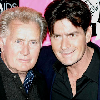 Martin Sheen, Charlie Sheen in Best in Drag AIDS Benefit