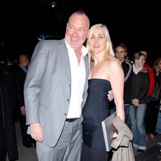 Randy Quaid, Evi Quaid in The 'Lions For Lambs' Screening
