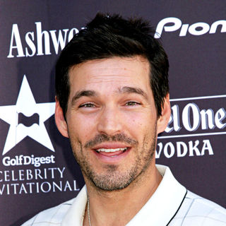 Eddie Cibrian in Golf Digest Celebrity Invitational Golf Tournament 2007