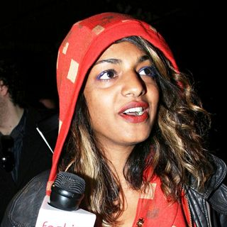 M.I.A. in Mercedes-Benz Fashion Week Fall 2008 - Marc Jacobs - Runway & Arrivals