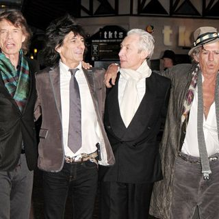 The Rolling Stones - UK Premiere of 'Shine A Light'