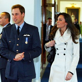 Prince William, Kate Middleton in Prince William Walks with Kate Middleton After His Graduation Ceremony