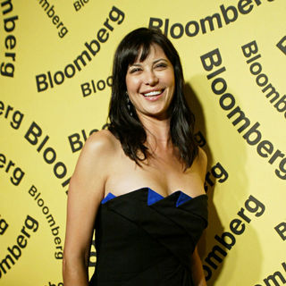 Catherine Bell in Bloomberg after party for the White House Correspondents' Association Dinner - arrivals