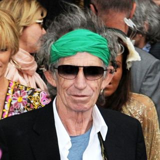 Keith Richards in The wedding of Leah Wood and Jack MacDonald