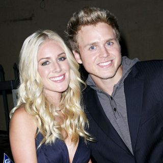 Heidi Montag, Spencer Pratt in Pepsi 500 Running Wide Open