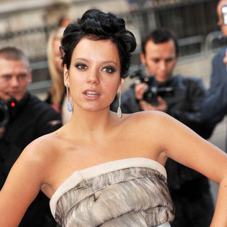 Lily Allen in GQ Men of The Year Awards - Arrivals - wenn5181103