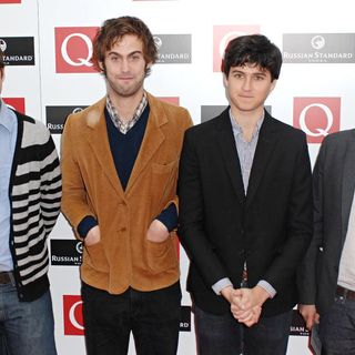 Vampire Weekend in The 2008 Q Awards - Arrivals