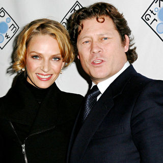 Uma Thurman, Arpad Busson in Room to Grow 10th Anniversary Benefit Gala