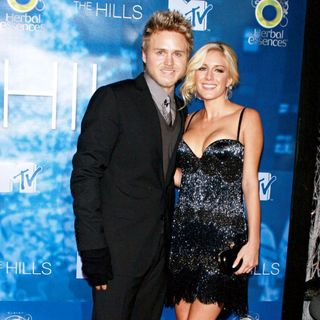 Spencer Pratt, Heidi Montag in Celebrate The Season Four Finale of MTV's 'The Hills'
