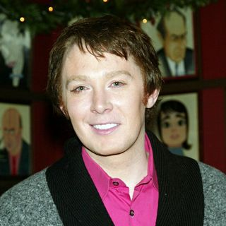 Clay Aiken in Clay Aiken Receives a Sardi's Restaurant Caricature for His Broadway Debut in The Musical 'Spamalot'
