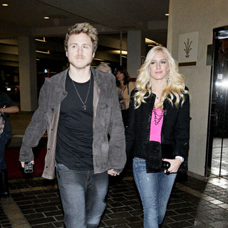 Spencer Pratt and Heidi Montag Arrive at The Grove to Film A Segment for MTV's 'The Hills'