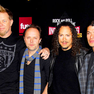 Metallica in Rock and Roll Hall of Fame Announce The 2009 Inductees - wenn5233084