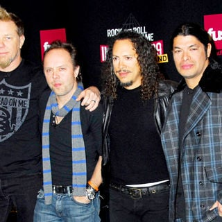 Metallica in Rock and Roll Hall of Fame Announce the 2009 Inductees - wenn5233090