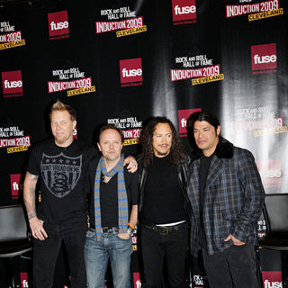 Metallica in Rock and Roll Hall of Fame Announce the 2009 Inductees - wenn5233483