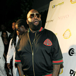 Rick Ross in Maybach Music hosts a birthday party for Rick Ross - Arrivals