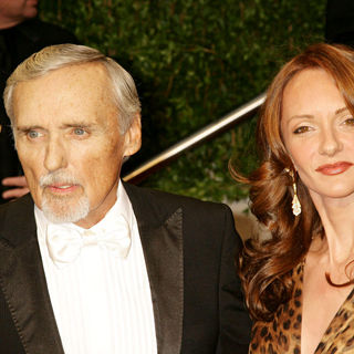 Dennis Hopper, Victoria Duffy in The 81st Annual Academy Awards (Oscars) - Vanity Fair Party