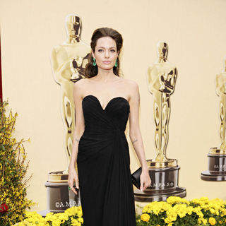 Angelina Jolie in The 81st Annual Academy Awards (Oscars) - Arrivals