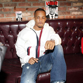 T.I. in Vibe Magazine Private Reception in Honour of Grammy Award-Winning T.I.