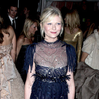 Kirsten Dunst in 'The Model As Muse: Embodying Fashion' Costume Institute Gala - Arrivals
