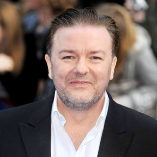 Ricky Gervais in Night At The Museum 2 - World Premiere