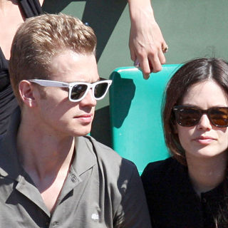 Hayden Christensen, Rachel Bilson in Les Internationaux de France de Roland Garros 2009 (The French Open)