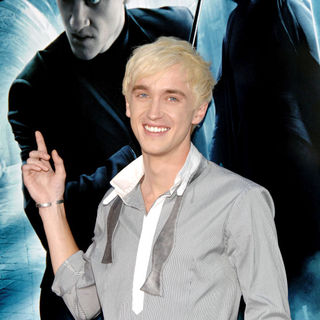 Tom Felton in New York Premiere of 'Harry Potter And The Half Blood Prince'