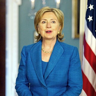 Hillary Clinton in Hillary Clinton Holds A Bilateral with Chadian Foreign Minister Moussa Faki Mahamat