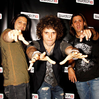 Wolfmother - Release Party for The CreArt By Swatch Timepiece Collection Designed by Billy The Artist - Arrivals