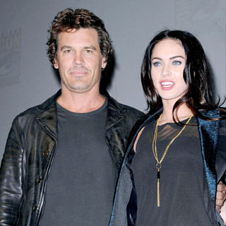 Josh Brolin, Megan Fox in Comic-Con 2009