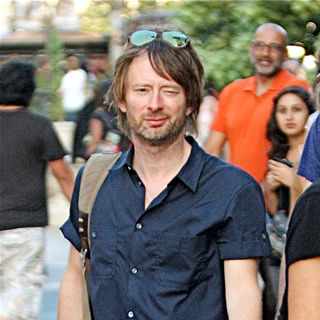 Thom Yorke, Radiohead in Thom Yorke  seen shopping with friends in Hollywood