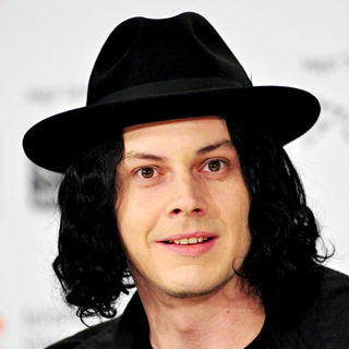 Jack White in 'White Stripes: Under The Great White Northern Lights' press conference
