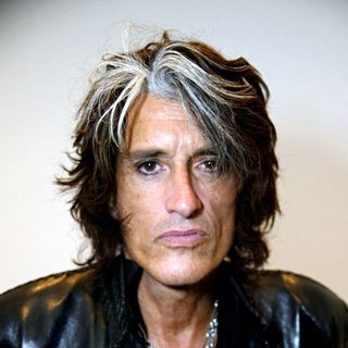 Joe Perry in 'Rock Stars of Science' Sponsored by Geoffrey Beene Foundation & Research America