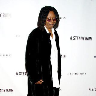 Whoopi Goldberg in Opening Night of 'A Steady Rain' on Broadway - Arrivals