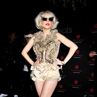Lady GaGa - U.S. Launch of Heartbeats by Lady Gaga from Monster