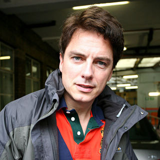 John Barrowman Outside The 'This Morning' Studios