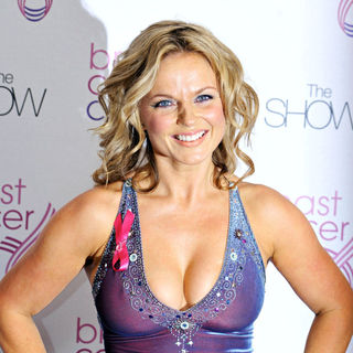 Geri Halliwell in Breast Cancer Care 2009 Fashion Show