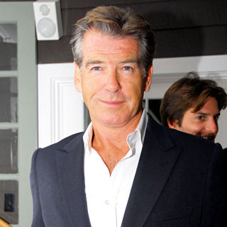 Pierce Brosnan in The 17th annual Hamptons International Film Festival premiere of 'Serious Moonlight' after party