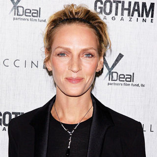Uma Thurman in Premiere of 'Motherhood' hosted by Gotham Magazine - wenn5370195