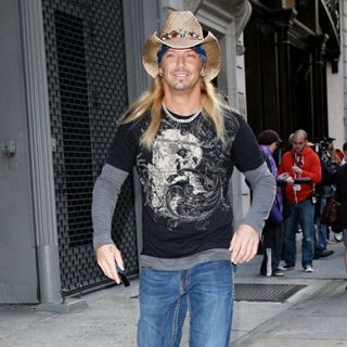 Bret Michaels - Cast members from 'Celebrity Apprentice 3' take over lower Manhattan